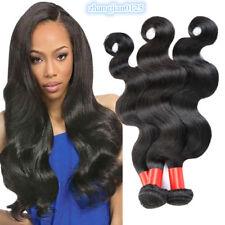 Braizlian Hair 16 16 16 inches Body Wave Human Hair Natural Color 3Bundles/150G