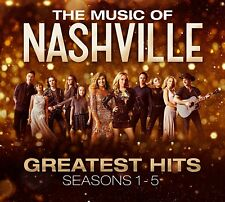 VA: Nashville - The Music Of Nashville: Greatest Hits Season 1-5 (NEW 3 x CD)