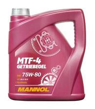 MANNOL 4L MTF-4 Getriebeoel 75W-80 API GL-4 BMW MTF LT-1/-2/-3/-4 MB 235.10
