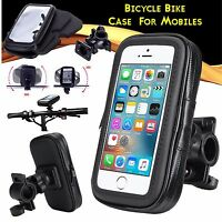 Universal Bicycle Bike 360 Degree Waterproof Phone Case Mount Holder For Mobiles
