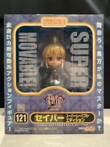 Nendoroid Fate Stay Night SABER Super Movable Edition Figure 121 Authentic New