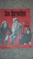 CHRISTIE - SAN BERNADINO  / SHEET MUSIC