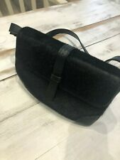 Designer Ronit Zilka Pony skin and leather shoulder bag