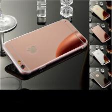 Handy Tasche Case Cover Schutz Hülle Bumper Schutzhülle Spiegel Silikon Zubehör
