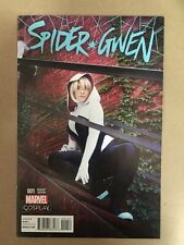 SPIDER-GWEN #1 COSPLAY PHOTO VARIANT COVER 1ST PRINT MARVEL (2015) SPIDERMAN