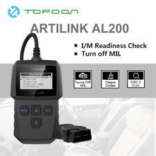 TOPDON Artilink200 OBD2 Scanner Tool Reader Car I/M Check Engine MIL Erase Code