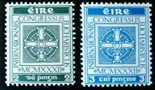 Ireland 1932 EUCHARISTIC CONGRESS Set of 2 Values Unmounted Mint SG 94-5