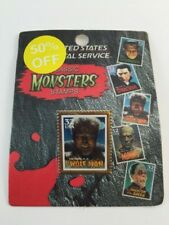1997 USPS Classic Monsters Stamps -The Wolf Man