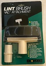 Ideaworks Lint Brush Vac Attachment Universal Hose Adapter NEW