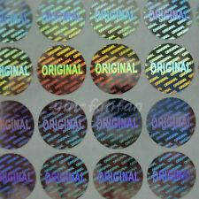 ORIGINAL Hologram Sticker Tamper Evident Warranty Security Stickers 1000PCS