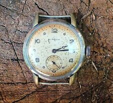Vintage military WW2 NIVADA wrist watch Swiss made 15 jewels