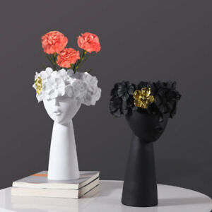 Resin Flower Pot Vase Home Special Design Home Decoration Art Plant Vase