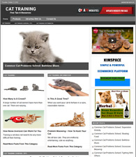 Cat Training Website Business For Sale Work From Home Internet Business