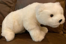 Mighty Star Polar Bear White 20� plush stuffed toy Bendable Front Paws