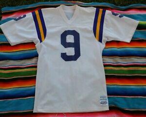 Vintage 80's MINNESOTA VIKINGS Tommy Kramer Sand-Knit Jersey Men's Size Medium