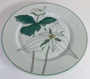 """Block Spal """"TRILLIUM"""" Watercolors, Goertzen, Flowers Dinnerware Collection"""