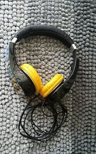 Yellow & Black Batman Kid Safe Over the Ear Headphone w/ Volume Limiter
