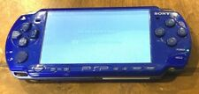 VIBRANT BLUE PSP 2001 System w/ Charger brand new battery 30