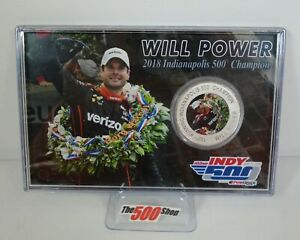 Will Power 2018 Indianapolis 500 102ND Running Champion & Event Coin Card