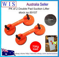 "2/PK 5"" ABS Plastic HD Double Suction Cup for Glass,Windshields & Dent Pulling"