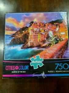 Buffalo Cities in Color Legend of the Sea 750 Piece Puzzle