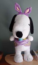 Snoopy Jumbo Easter Beagle Xl Standing Bunny Peanuts Plush