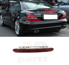 FOR MERCEDES BENZ SL R230 01-12 NEW REAR 3RD STOP TAIL BREAK RED LED LIGHT LAMP