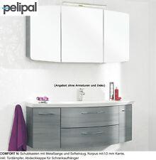 Pelipal Cassca Badmöbel Set 120 cm inklusive LED Aufbauleuchte, Comfort N