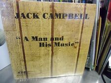 Jack Campbell A Man and His Music vinyl LP KSS Records EX IN Shrink