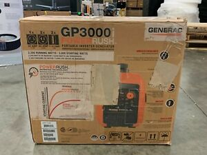 Generac GP3000i Super Quiet Inverter Generator w/PowerRush Tech