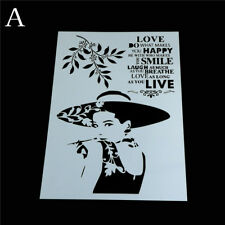 beauty layering stencils for walls painting scrapbooking stamping album de FO