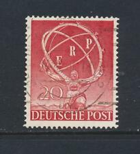 GERMANY BERLIN 1950 EUROPEAN RECOVERY, VF USED Sc#9N68 (SEE BELOW)