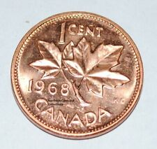 1968 1 Cent Canada Copper Nice Uncirculated