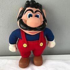 "Vintage 1989 MARIO Applause 11.5"" Character Doll Figure Nintendo Collectible"