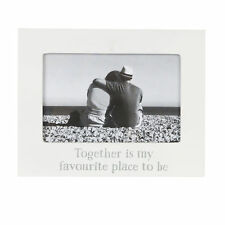 White Photo Picture Frame Wording Together Is My Favourite Place to Be
