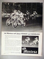 Montesa Motorcycle PRINT AD - 1970 ~~ Cappra 250 Five-Speed, Montesa Motors