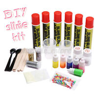 DIY Slime Kit Making Supplies Fluffy Crystal Glitter Clay Mud For Girl&Boy Gift