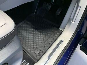 Genuine Volkswagen Tiguan Rubber Floor Mats Front & Rear Mat Set 2017-Current