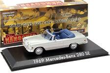 Mercedes-benz 280 se convertible de la película Hangover 2009 plata 1:43 greenlig