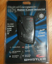 Brand New Whistler #1675 Radar/Laser detector with digital compass Sealed