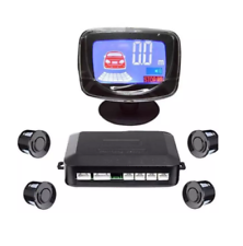 Waterproof Rear and Front View Car Parking Sensors with LCD Monitor