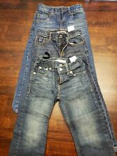 Lot of (3) Boys 4T- BLUE JEANS- Levi's, Tommy Hilfiger, Cherokee Brands-