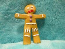 "2004 Hasbro Shrek 2 - Gingy Gingerbread Man - Action Figure Toy Minfigure 3"""