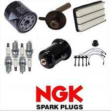 FOR 1997-2001 TOYOTA CAMRY  TUNE UP KIT NGK SPARK PLUGS WIRE FILTERS SET