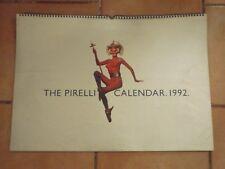 Pirelli 1992 - Calendar RARE - Calendario - Kalender - Calendrier