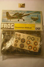 Kit Montaggio Frog Rovex Triang Aereo Grumman Wildcat plastica sc 1:72 ref F242F
