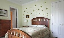 Star Wall Stickers Wall Decals Set of 3 sizes.  Choice of colours