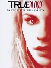 TRUE BLOOD - STAGIONE 5 (5 DVD) SERIE CULT HORROR con Anna Paquin, Stephen Moyer