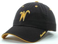 Witchita State Shockers NCAA Black Prodigy Adjustable Hat Cap University WSU KS