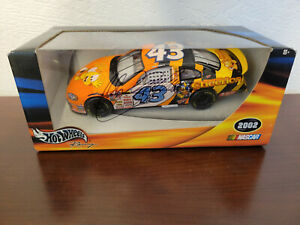 Signed John Andretti 2002 Honey Nut Cheerios #43 Dodge Hot Wheels 1:24 Diecast